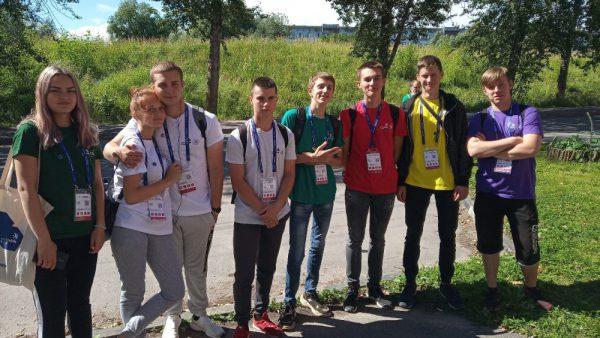 Студенты Валдайского аграрного техникума